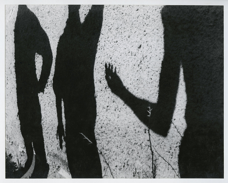 Untitled [shadows on wall], ca. 1950s. Vintage gelatin silver print, ca. 1950s. Image measures 7 x 9 1/2 inches.  Credit stamps on mount back. Inventory #CK032. $1,200. Terms  |  Inquire
