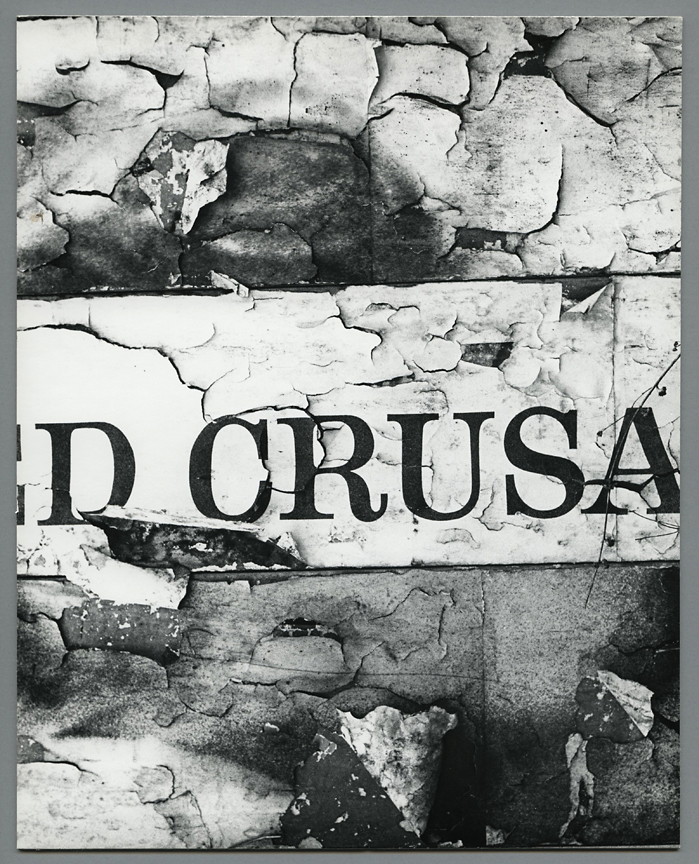 Untitled [torn posters 1], ca. 1960. Vintage gelatin silver print, ca. 1960s. Image measures 9 1/2 x 7 9/16 inches. Flush mounted and mounted again. Estate stamp on mount back. Inventory #CK035. $1,200. Terms  |  Inquire