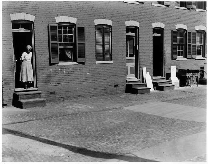 Untitled, Washington D. C. for U.S. Housing Authority  , 1938.  Vintage gelatin silver print.   Image measures 7 1/2 x 9 3/8 inches. Inventory #PS0031    Terms    |    Inquire