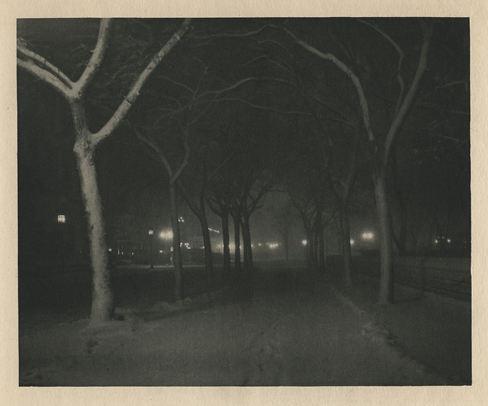 Icy Night,   1898. Photogravure from  Camera Work , No.4, 1903 .   Inventory #CW0121.  Terms  |  Inquire