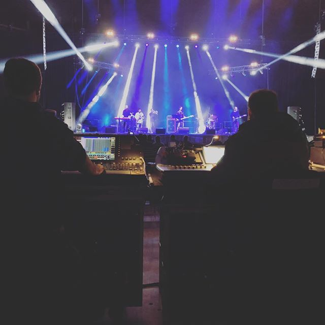 Three @sonus_pro stallions at the controls for the Dorton Arena concerts at the @ncstatefair We always enjoy working alongside our friends @deepsouthent Tonight's headliner: #mrpotatohead  LD: @billyraycharles  FOH: @patrickloundas  MON: @roadie2606