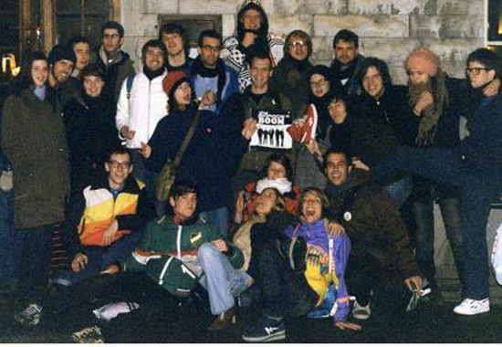 The first Swedish Tour crew 2004