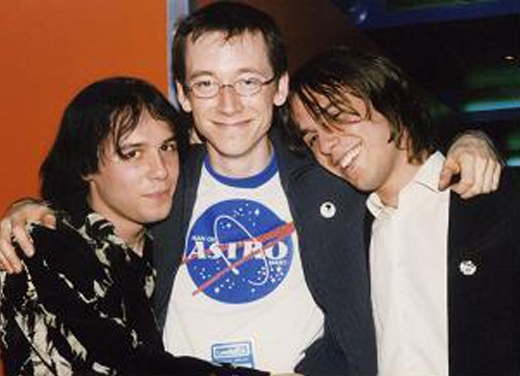 with the Cribs 2002