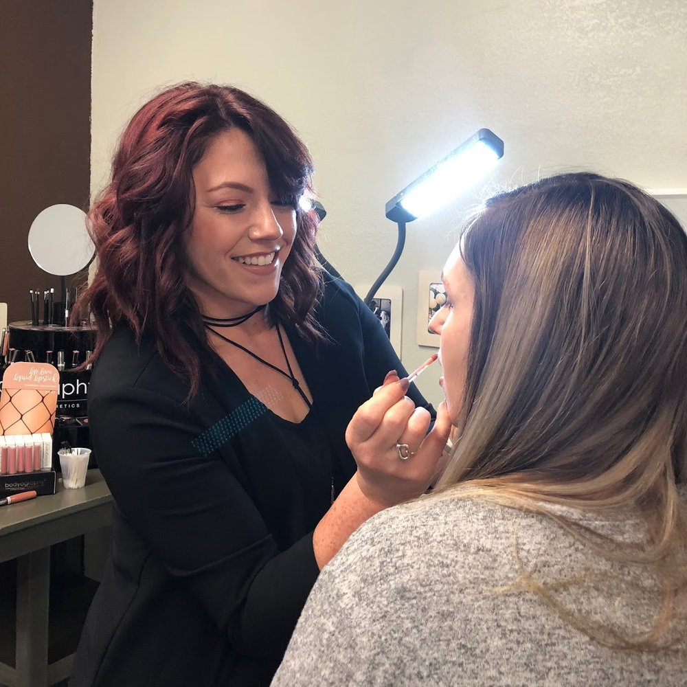 LESSON - HAIR OR MAKEUP $100 per hourOne-on-one personalized consultationOverhaul of your makeup bag/hair products & routineStep-by-step focused lookPriceless tips and tricks from the expertPrecise product recommendations to fit any budget