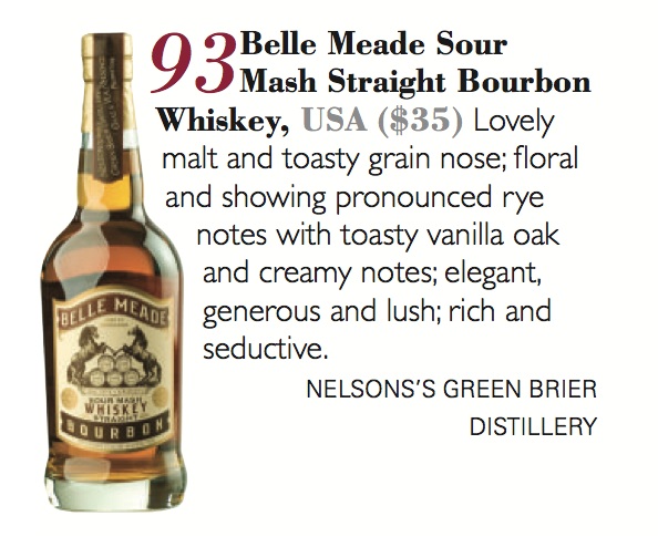 Belle Meade Bourbon Review in The Tasting Panel