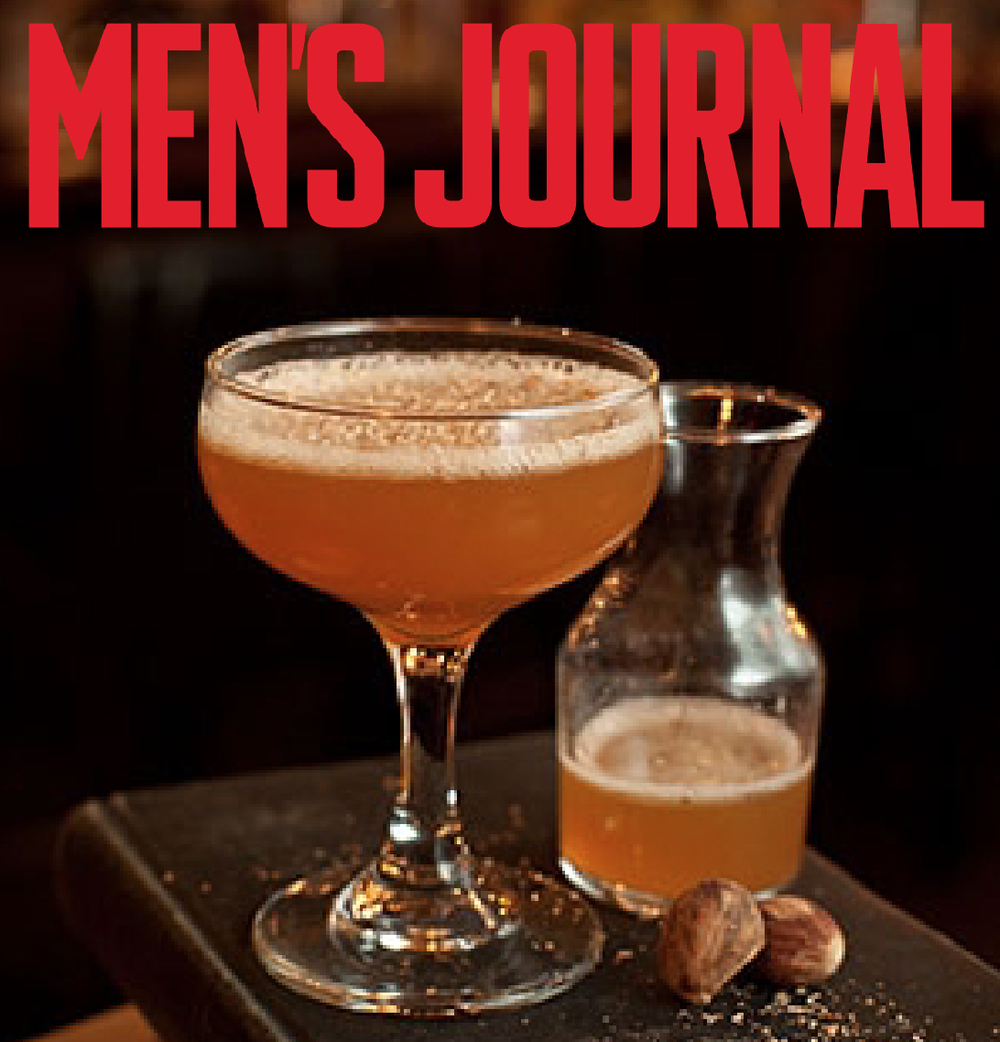 Men's Journal features a delicious cocktail featuring Belle Meade Bourbon