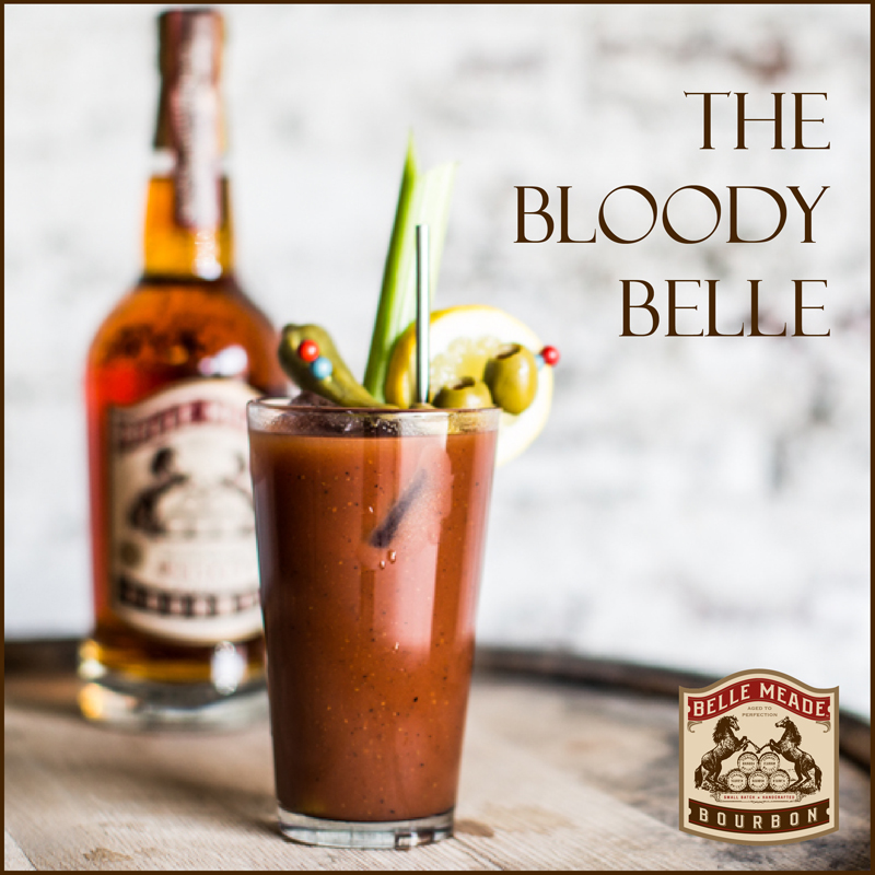 The Bloody Belle - a new spin on the Bloody Mary from Belle Meade Bourbon