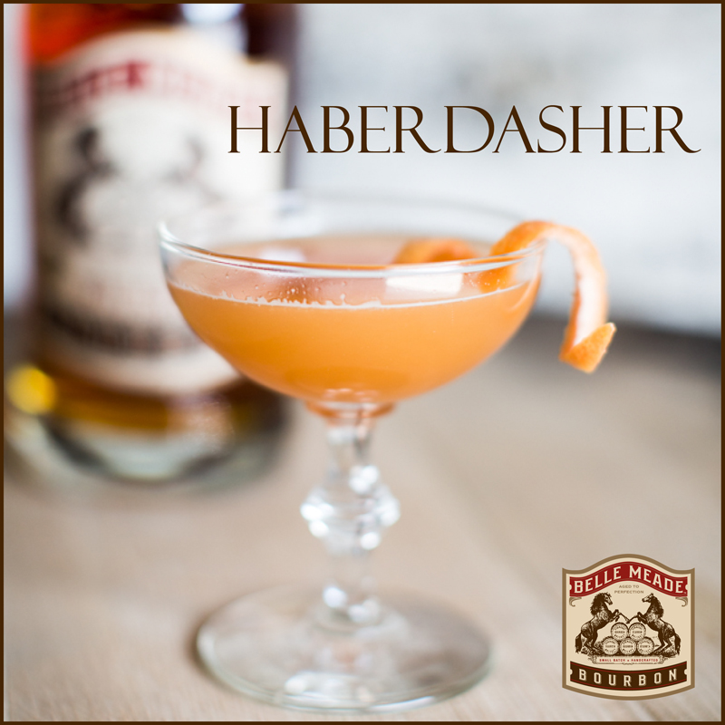 Haberdasher Cocktail from Belle Meade Bourbon