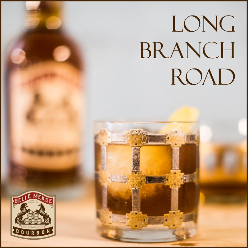 Long Branch Road cocktail from Belle Meade Bourbon