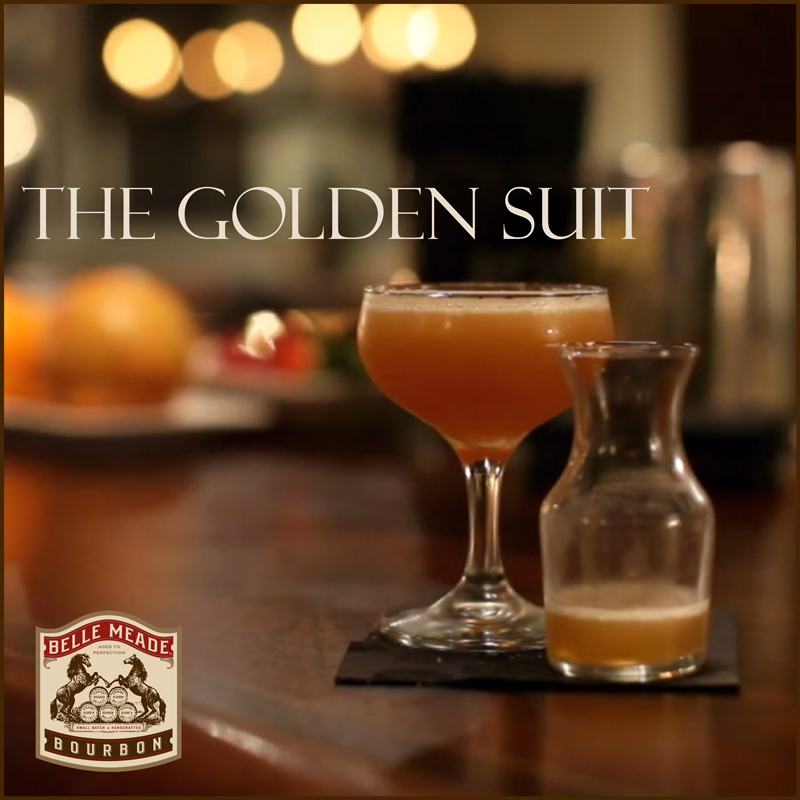 The Golden Suit cocktail recipe from Patterson House
