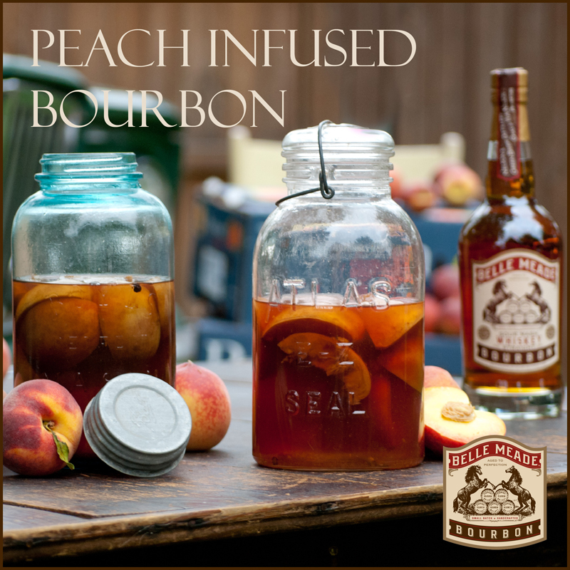 The Peach Truck's recipe for Peach-Infused Bourbon