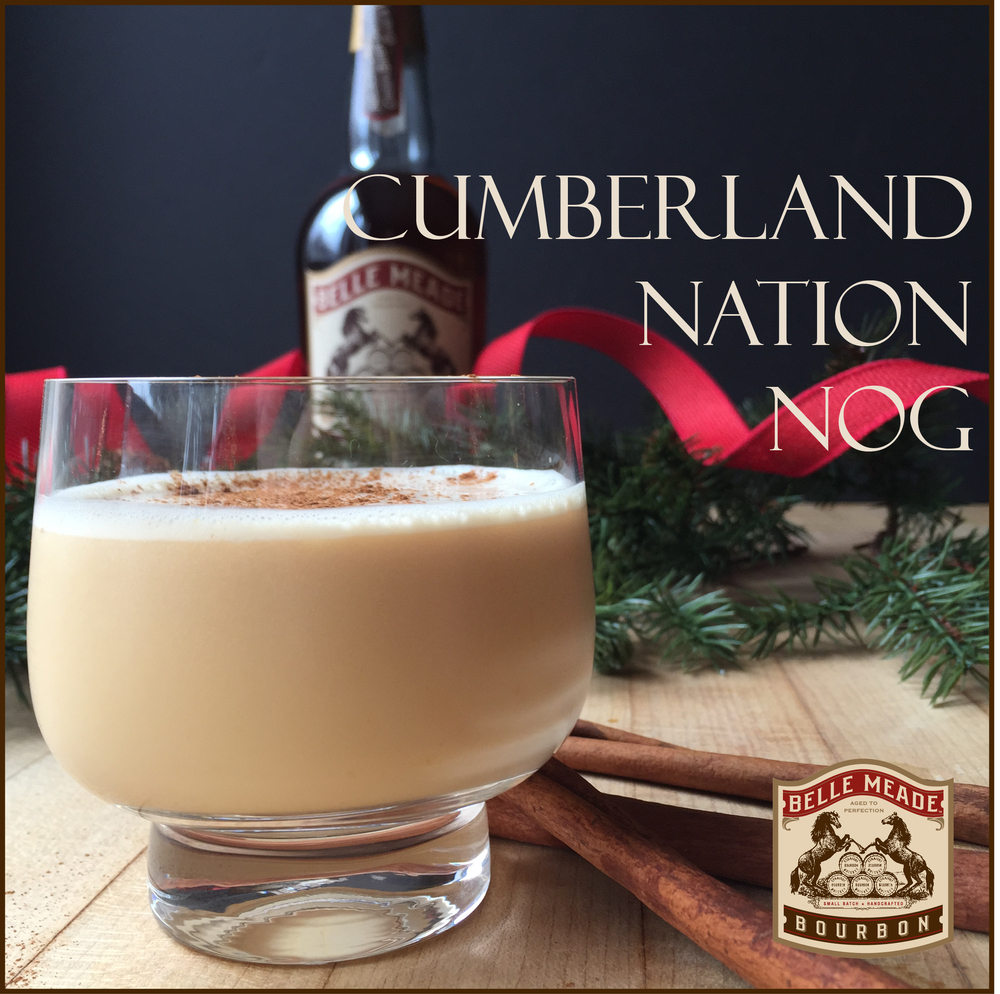 Nelson's Green Brier Distillery's Cumberland Nation: the perfect holiday egg nog recipe