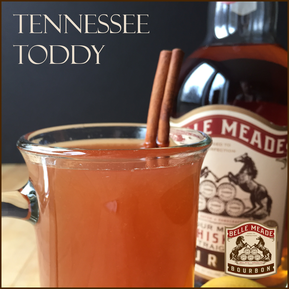 Feeling under the weather? Try out this Tennessee Hot Toddy recipe from Belle Meade Bourbon!