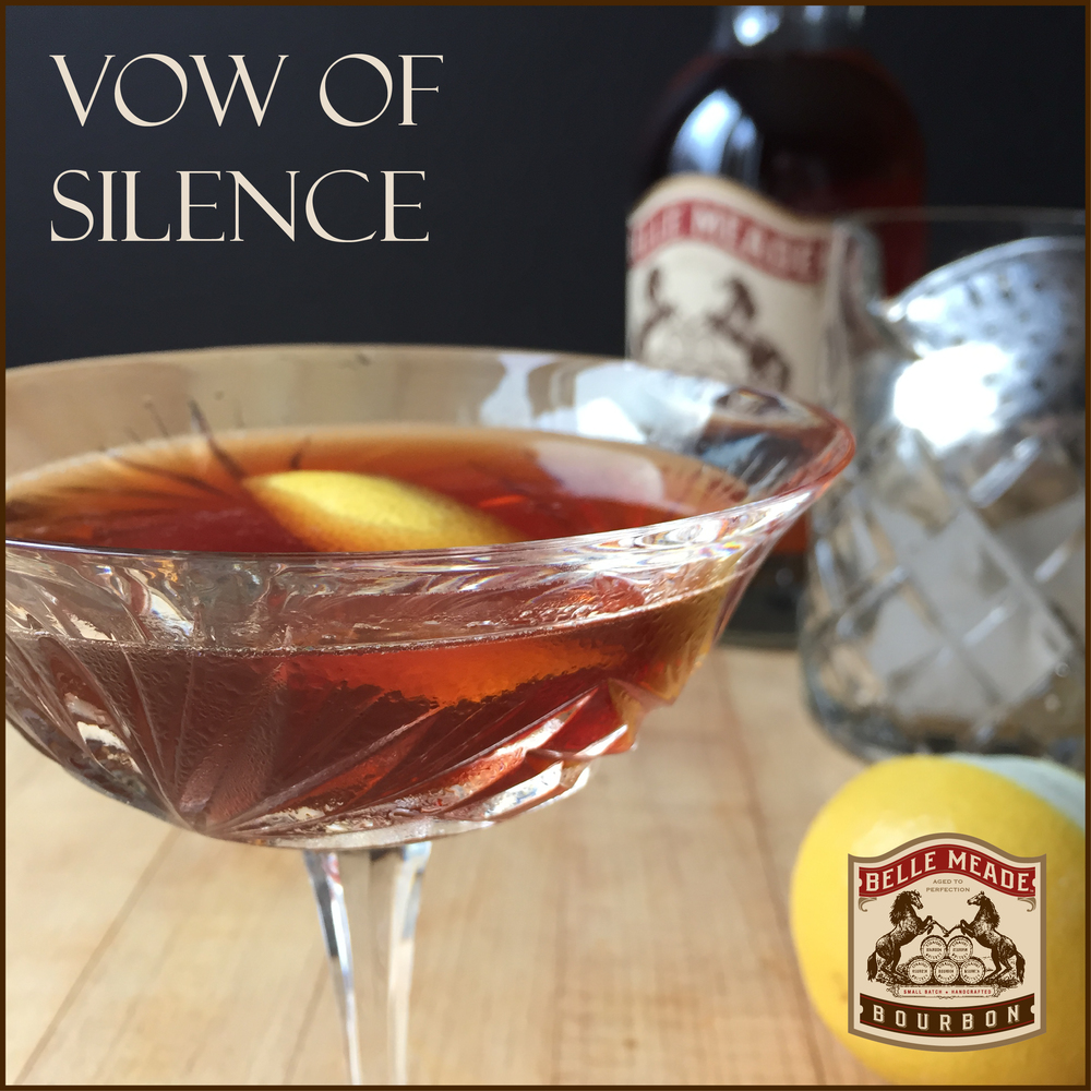 Belle Meade Bourbon's 'Vow of Silence': a perfectly stirred and spirituous winter cocktail
