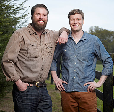 People Changing South 2015 Southern Living's 2015 Top 50 Who are Changing the South: Andy and Charlie Nelson of