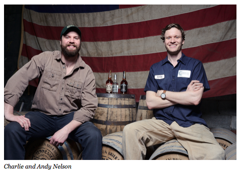 Forbes Magazine: Andy and Charlie Nelson of Nelson's Green Brier Distillery