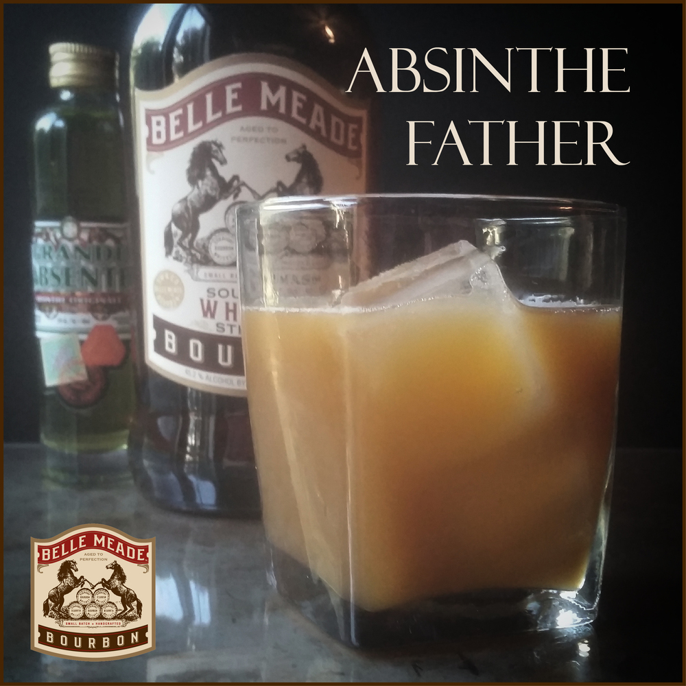 The Absinthe Father: a bourbon cocktail from Nelson's Green Brier Distillery