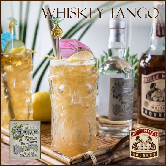 The Whiskey Tango Cocktail: Nelson's Green Brier Distillery I Nashville, TN
