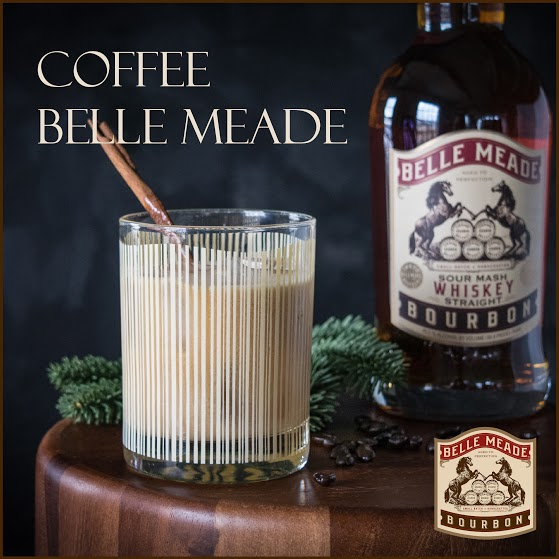 Coffee Belle Meade: a bourbon-coffee-coconut milk cocktail