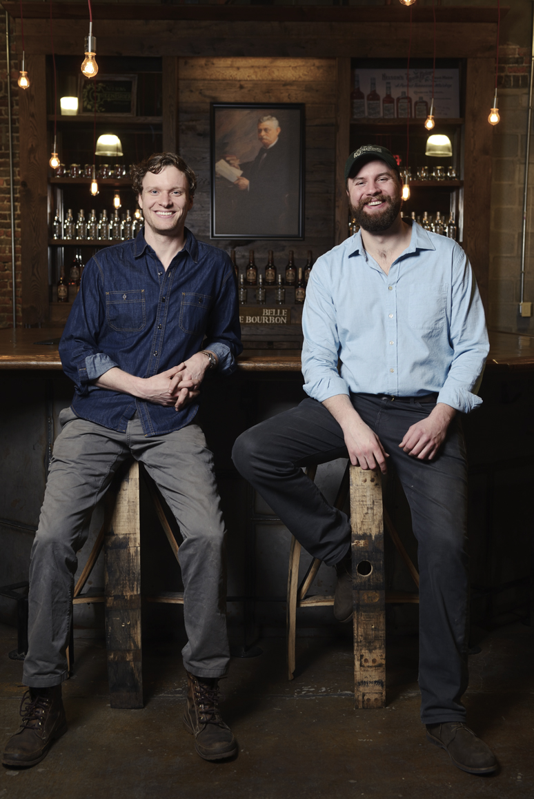 Andy and Charlie Nelson of Nelson's Green Brier Distillery