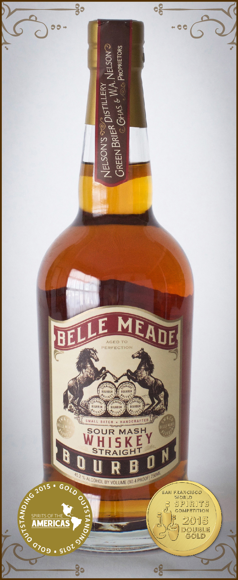 Belle Meade Bourbon from Nelson's Green Brier Distillery
