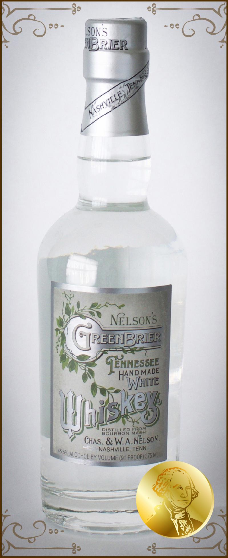 Nelson's Green Brier Distillery White Whiskey