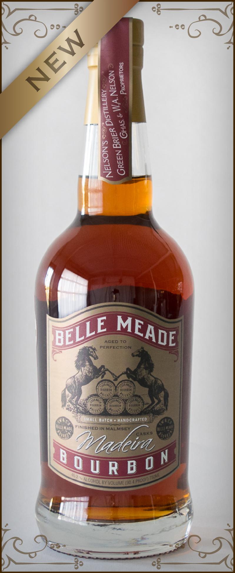 Belle Meade Bourbon finished in Madeira Casks