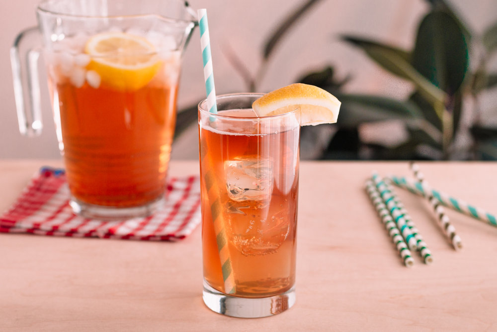 The Tennessee Stud: an easy and perfect Belle Meade Bourbon and iced tea cocktail for summer sipping