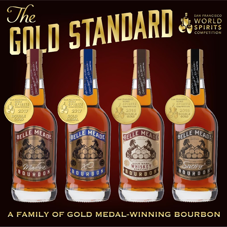 Belle Meade Bourbon gleams golden at 2017 San Francisco World Spirit Awards