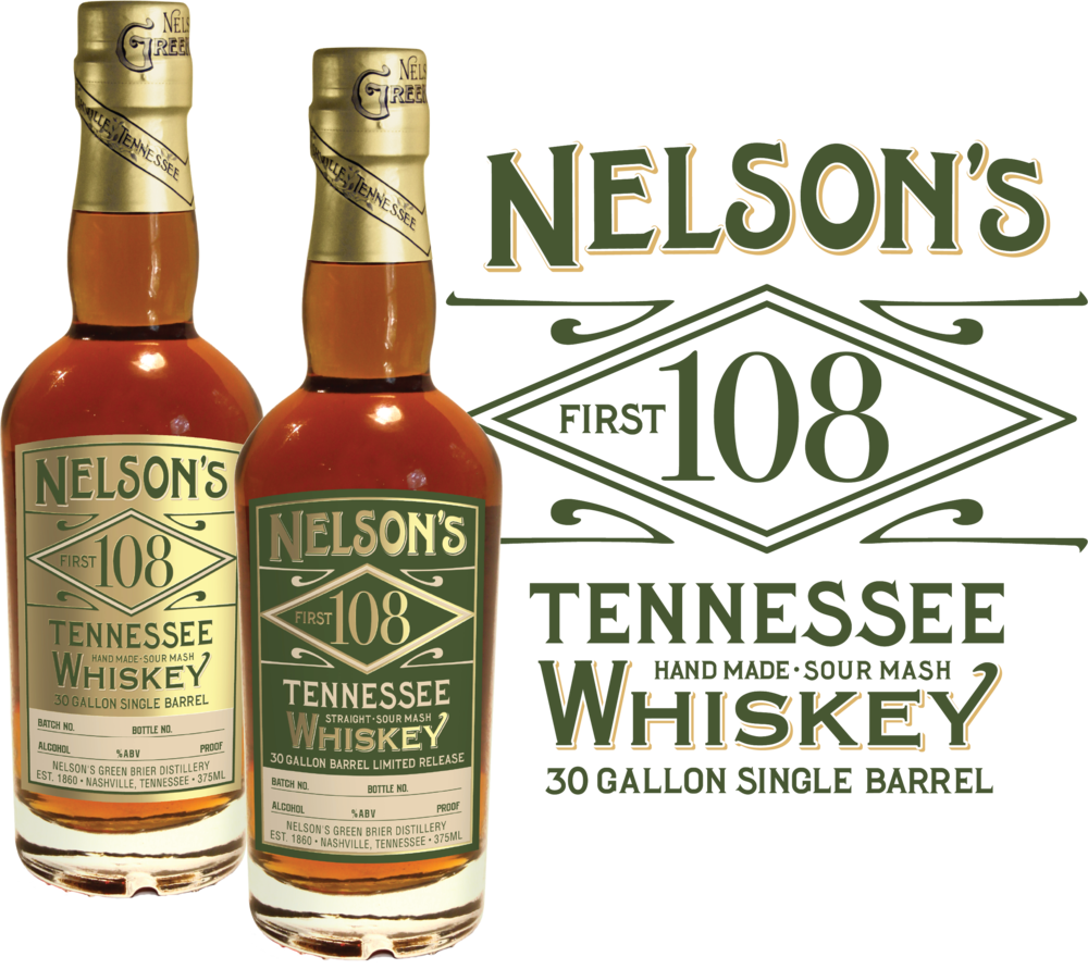 Nelson's 108 Tennessee Whiskey: Nelson's Green Brier Distillery / Nashville, TN
