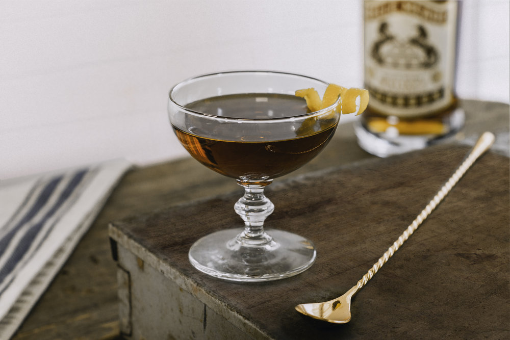 The Old Oak Manhattan: a classy old-school whiskey cocktail from Nashville's Nelson's Green Brier Distillery