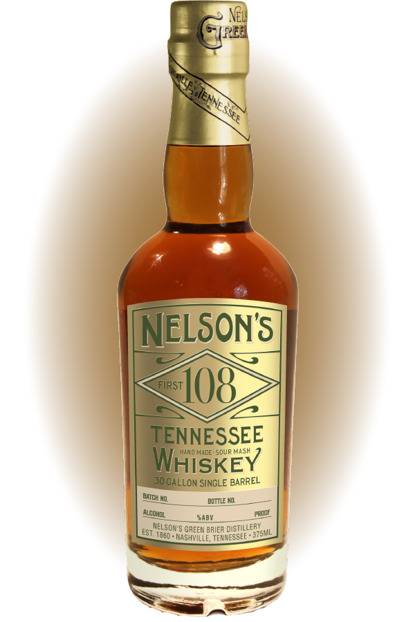 Nelson's First 108 Limited Release Tennessee Whiskey