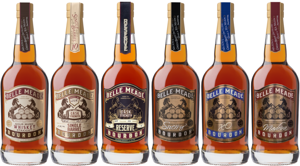 Belle Meade Bourbon Family of Products.png