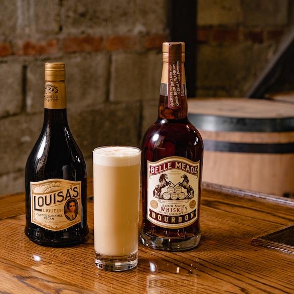 Belle Meade Bourbon Germantown Flip cocktail recipe