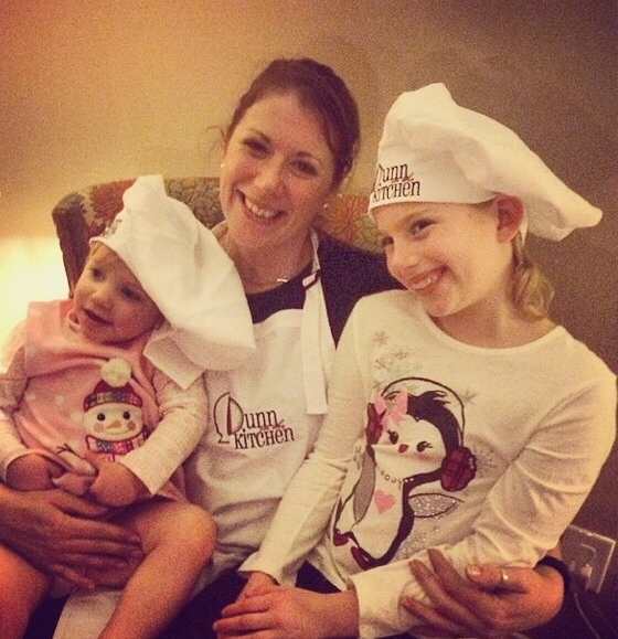 Me and my Lil' Dunns in the Kitchen