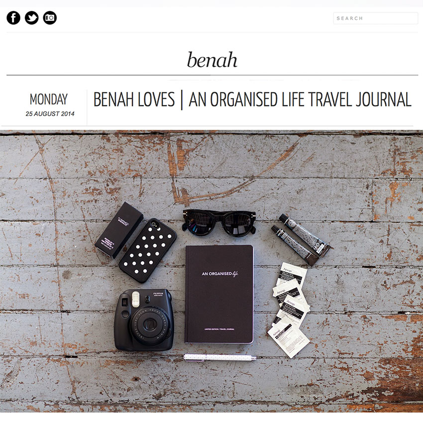An Organised Life x Benah Blog
