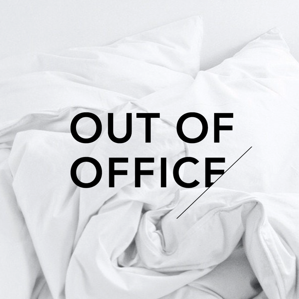Out Of Office_An Organised Life