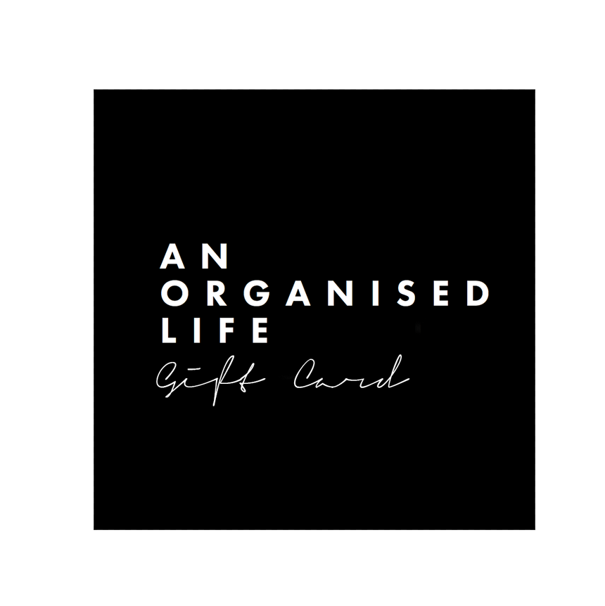 An Organised Life Gift Card