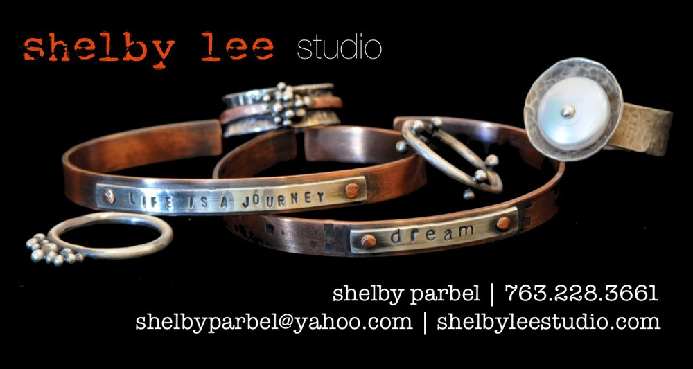 Visit my other passion... jewelry! I design and create hand forged sterling and copper earrings, bracelets + charms.