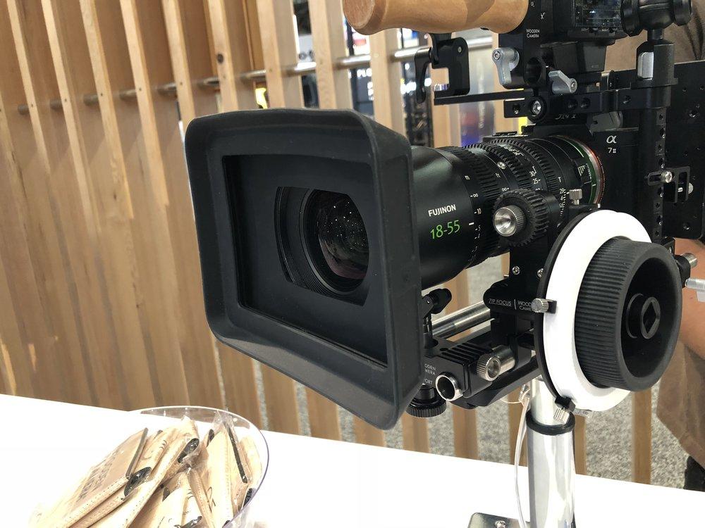 - Wooden CameraRubberMatte Box