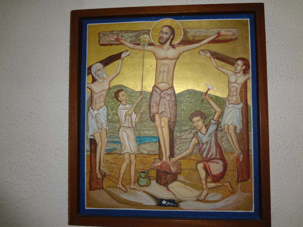 Station 11 -Jesus nailed to the cross