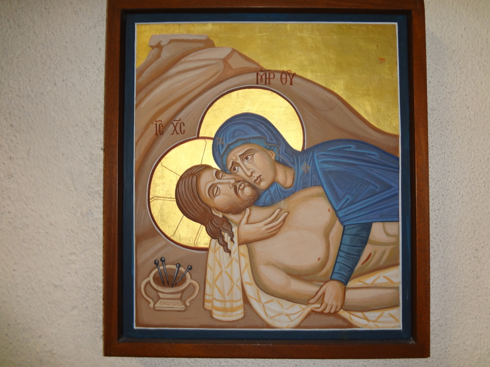 Station 13 - Jesus laid in His Mother's arms