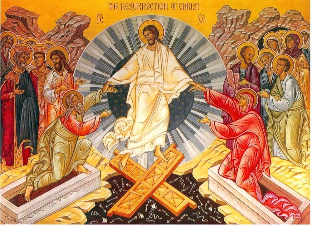 - 8.30am Eucharist (said) with Champagne BreakfastThis is a simple quiet celebration of the Resurrection of our Lord, with no music or hymnody. Address by the Reverend Elaine Farmer. It is followed by pastries, champagne, mimosa, soft drinks, coffer, and tea.11am Choral Eucharist with Champagne Reception and Children's Easter-Egg HuntMusic: Spatzenmesse (Mozart)This is the principal service of Easter Day. St John's Choir sings Mozart's 'Spatzenmesse' (K 220) and the Eucharist is rich with hymnody and chant. Incense and Holy Water are used. Our guest preacher is the Reverend Elain Farmer.This Eucharist is followed by a Reception of Champagne and soft drinks in St Benedict's Courtyard. During the Reception the annual Children's Easter-Egg Hunt takes place in the Courtyard garden.
