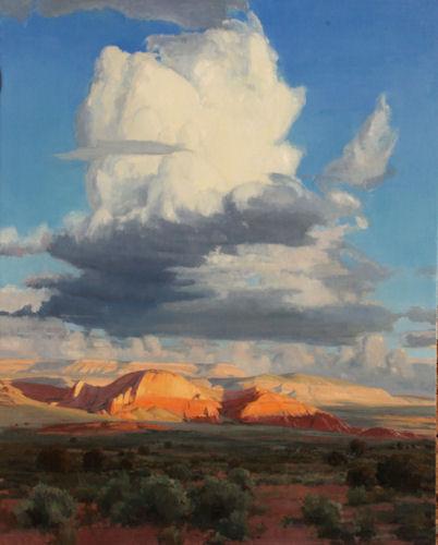 Prospect of Rain, 60x48, Oil on Linen