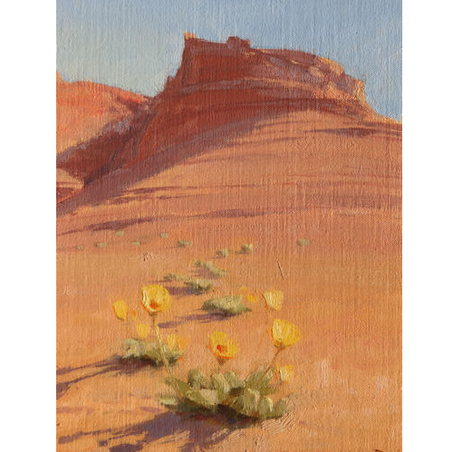 Spring Bloom, 10 x 8, Oil on Linen Panel, Knowlton Gallery