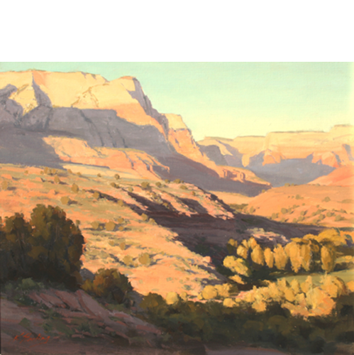 November Afternoon, 20 x 24, LaFave Gallery