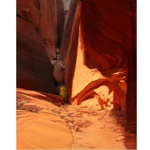Slot Canyon, 60 x 48, LaFave Gallery