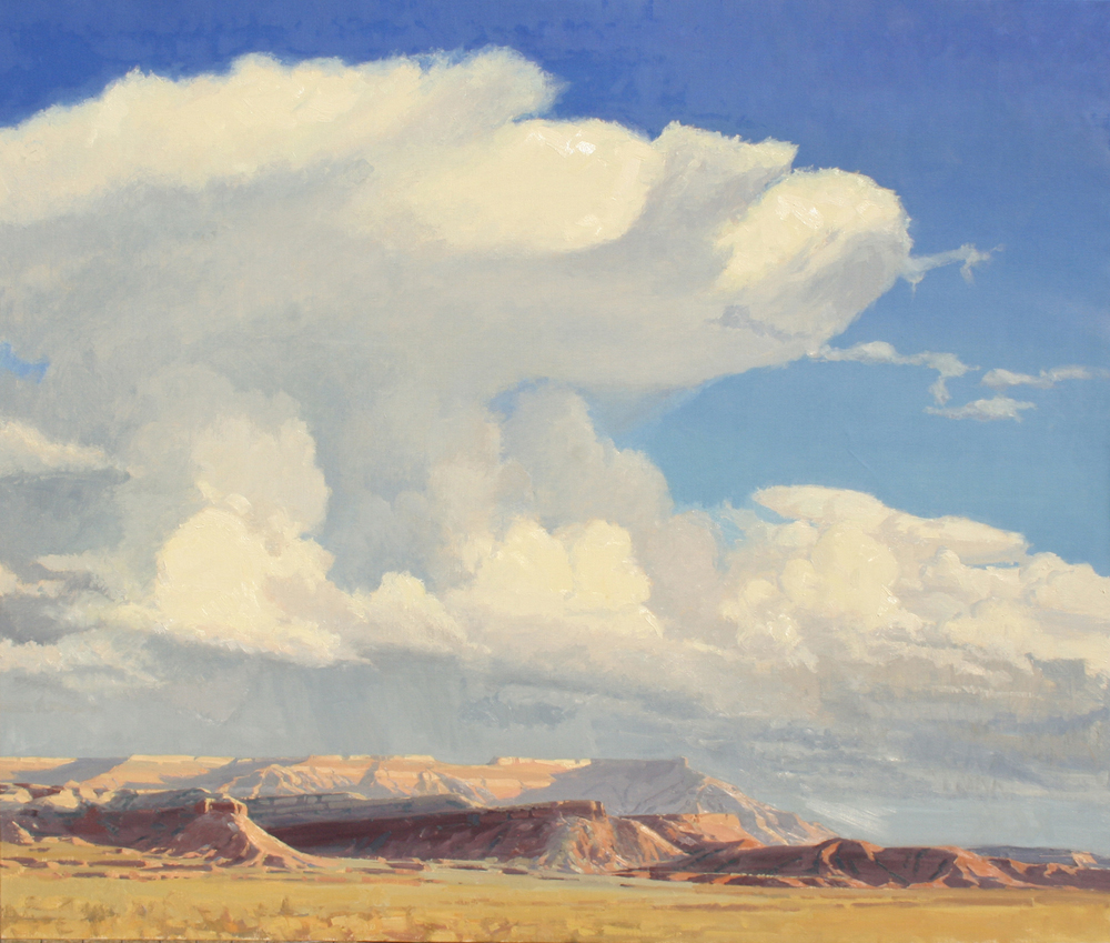 Anvil Over Gooseberry,  50x60,  Oil on Linen, LaFave Gallery