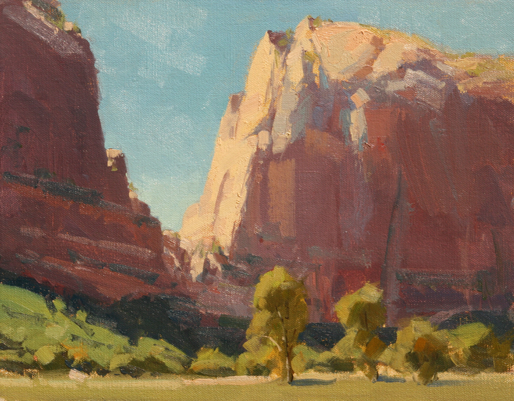Angel's Landing, 11x14, LaFave Gallery