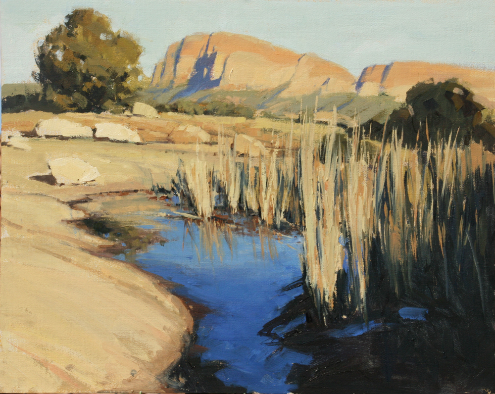Desert Oasis, 16x20, LaFave Gallery